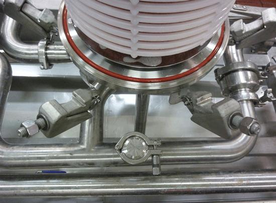lenticular filter module in housing