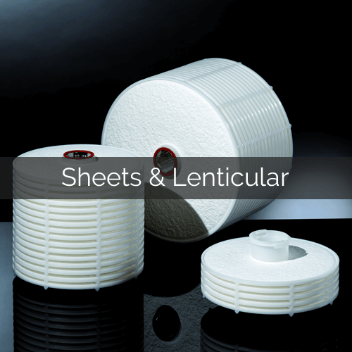 Sheets and Lenticular Modules