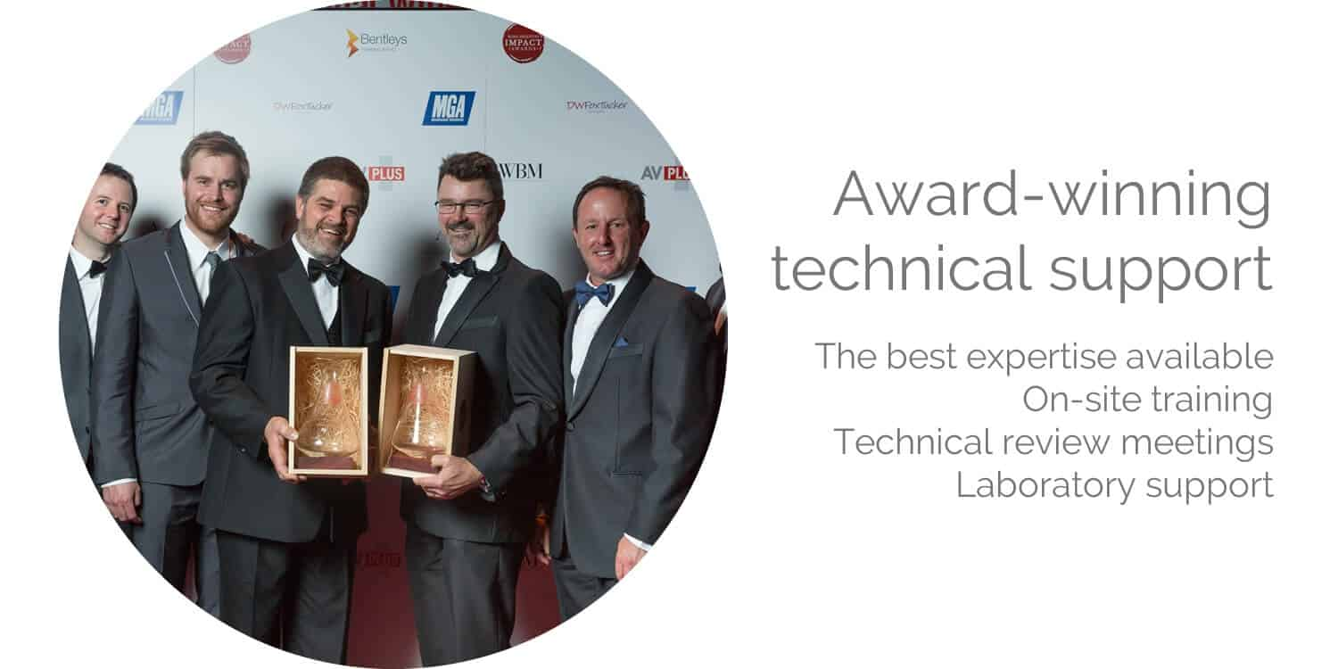 award-winning-technical-support-and-training