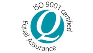 ISO 9001 certified equal assurance logo
