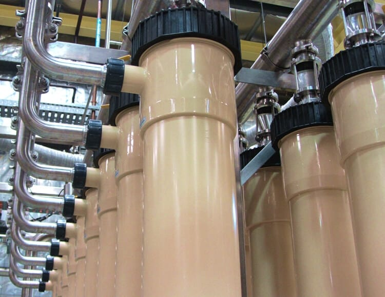 water treatment in wineries and bottling plants australia