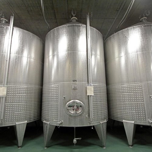 Alcoholic Fermentation Vats