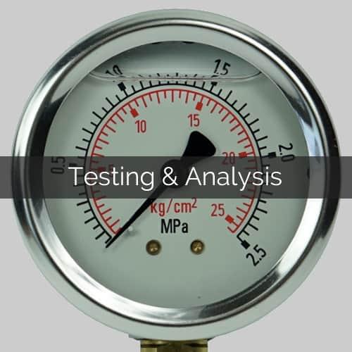 Testing and analysis