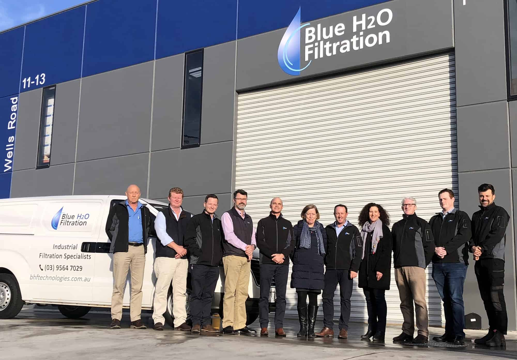 Blue H2O Filtration BHF Technologies Melbourne Australia Team