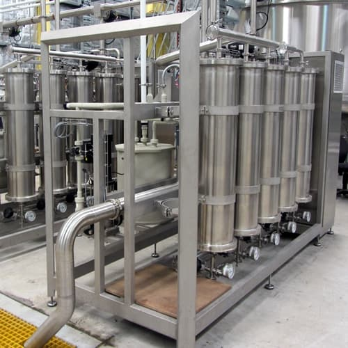 Industrial water treatment filtration skids pharmaceutical reverse osmosis