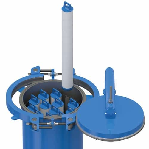 Peco 75VTL Vertical Filter-Separator