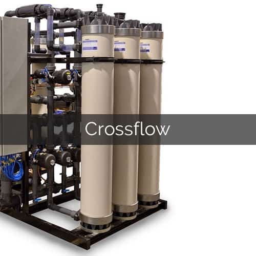 crossflow membrane systems water treatment ultrafiltration microfiltration