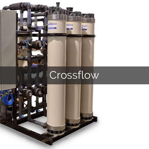 crossflow membrane systems water treatment ultrafiltration microfiltration