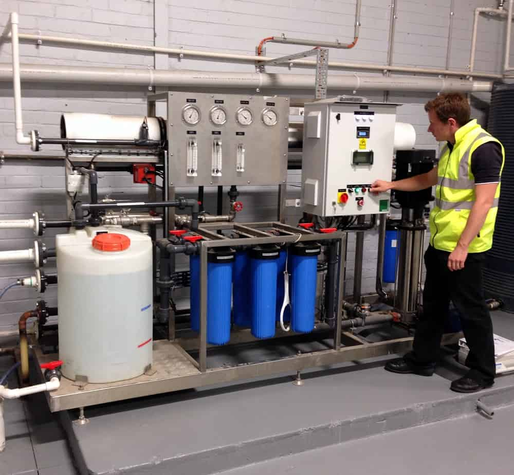 godfrey hirst carpets blue h2o filtration water treatment filtration skid case study 1