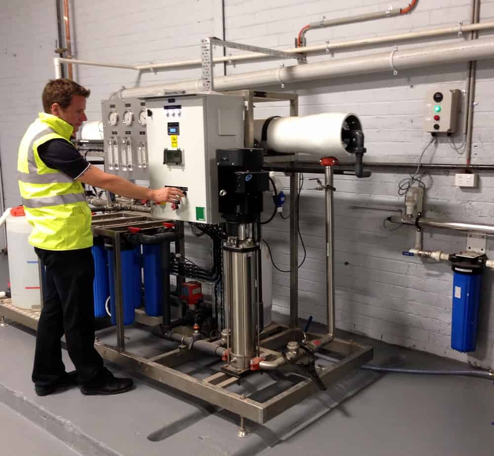godfrey hirst carpets blue h2o filtration water treatment filtration skid case study 2