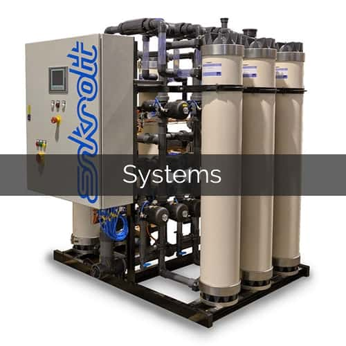 industrial filtration systems pharmaceutical water reverse osmosis ultrafiltration microfiltration