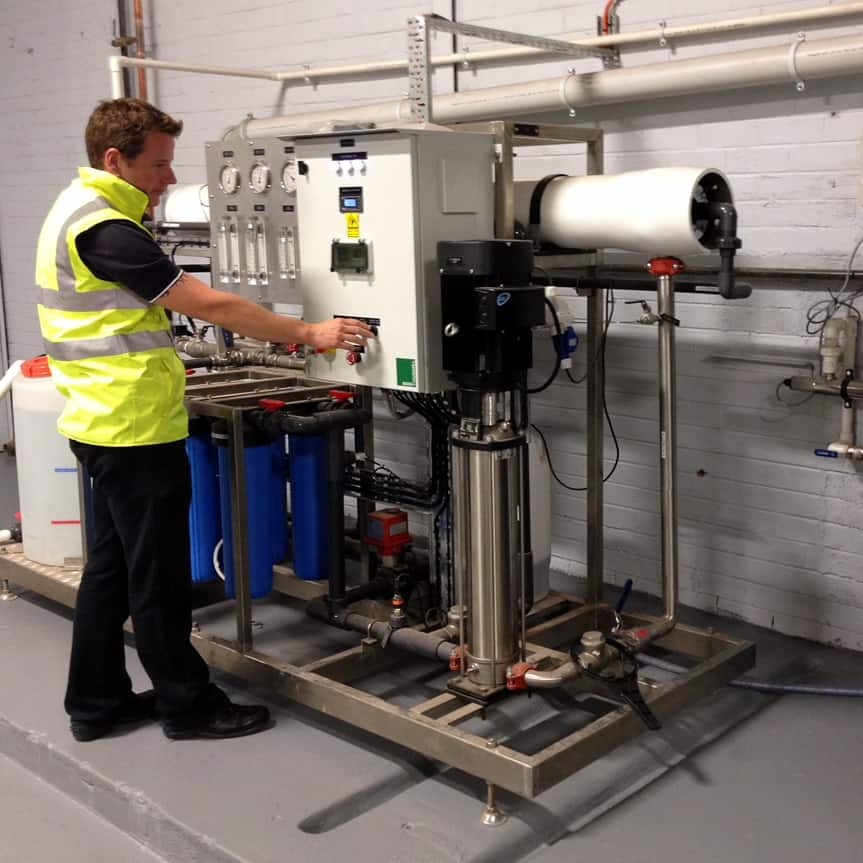 godfrey hirst carpets water treatment filtration skid case study 1