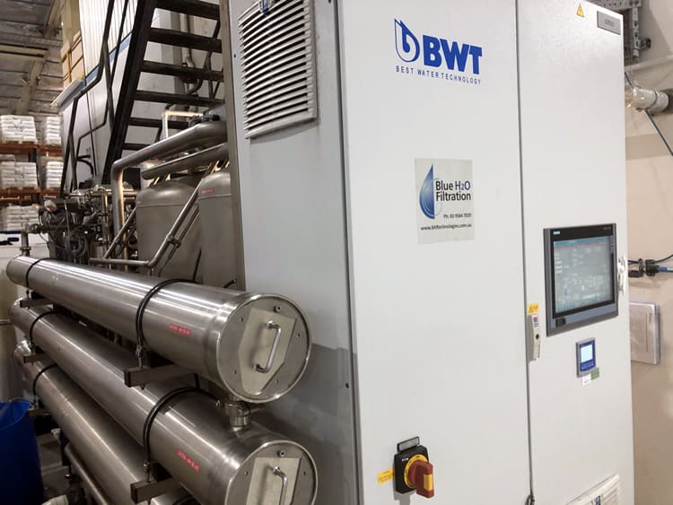 High purity water system HPW 1