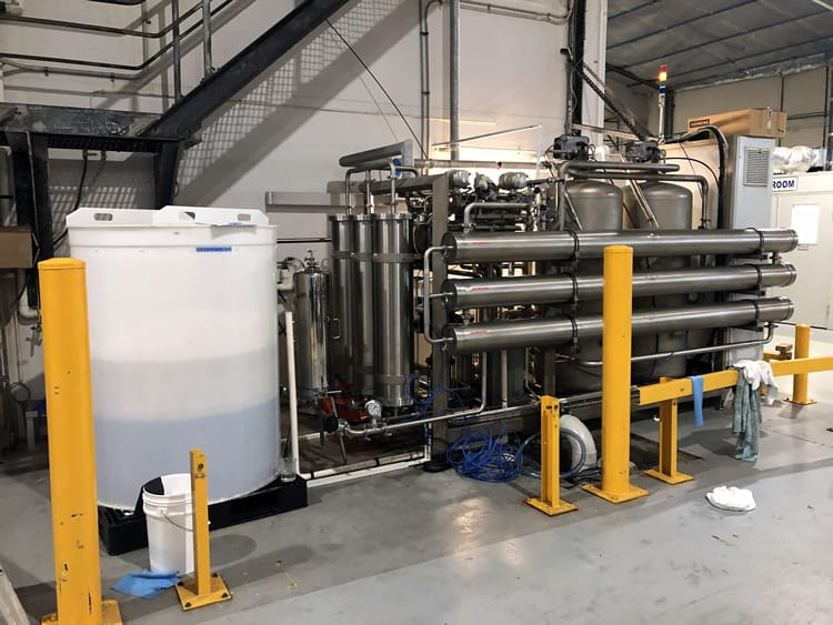 High purity water system HPW 2