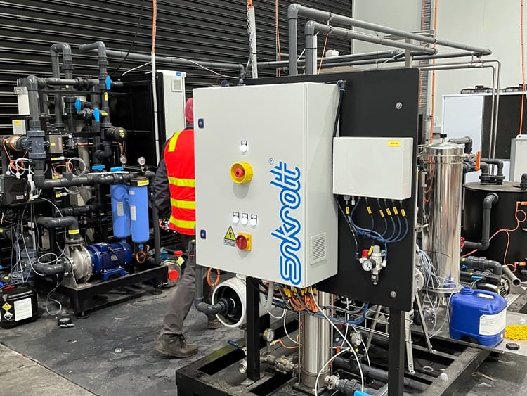 Mains water filtration 1