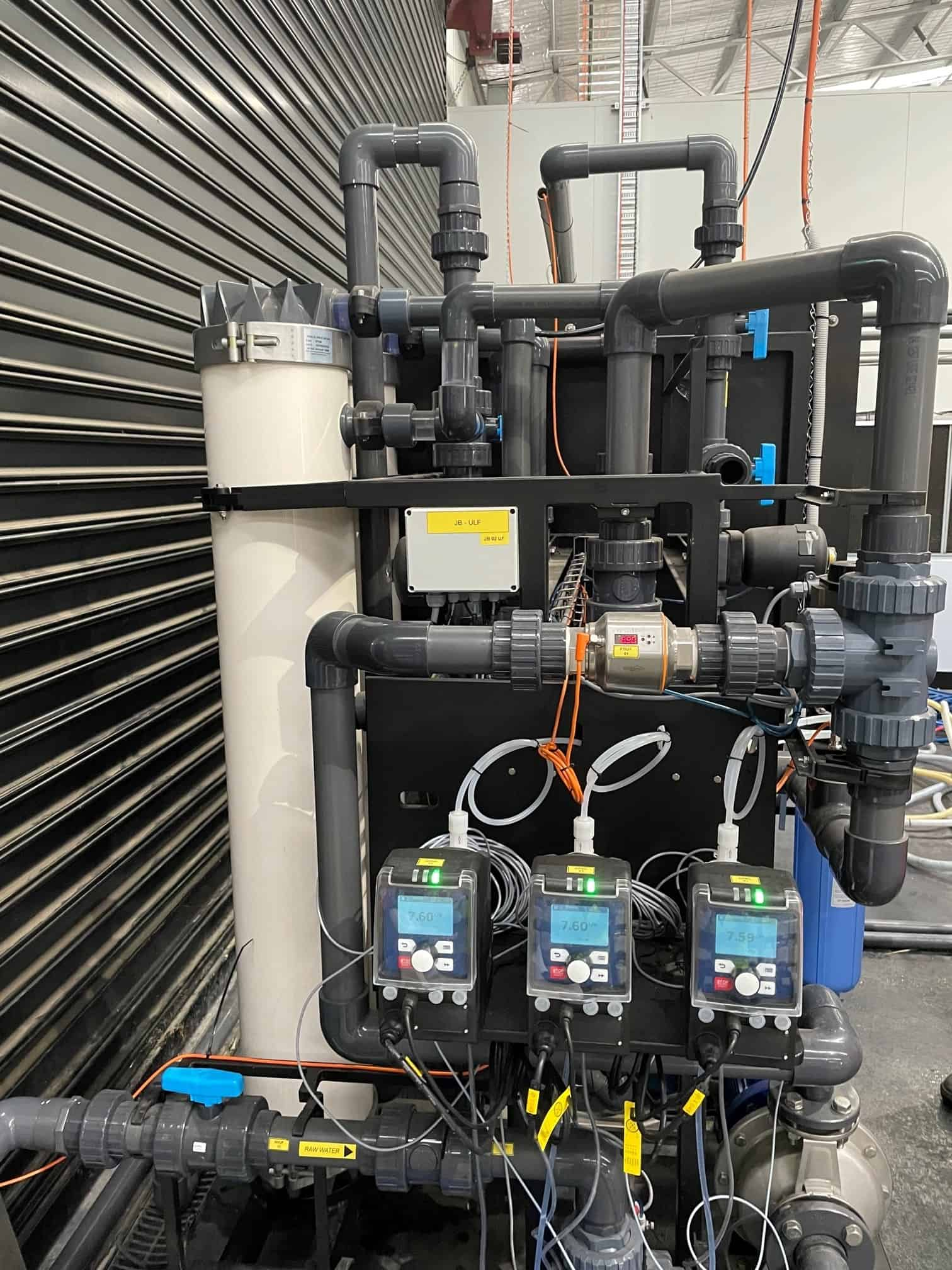 Mains water filtration 2