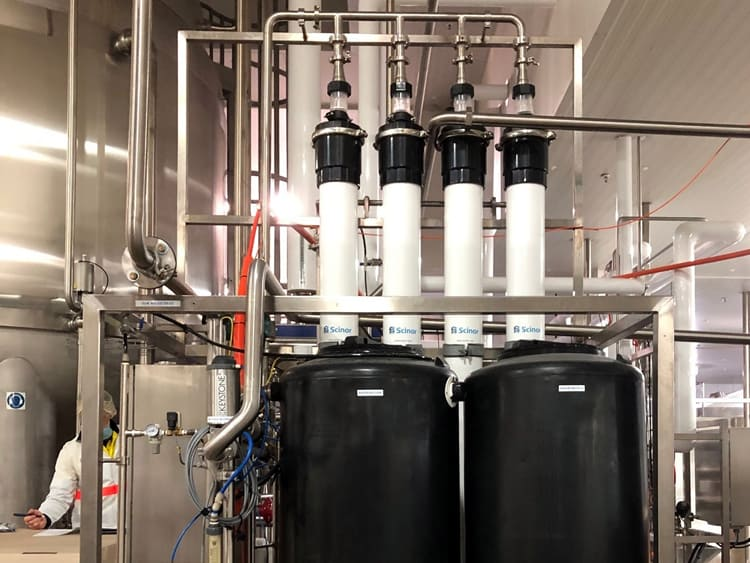 Mains water filtration dairy 1