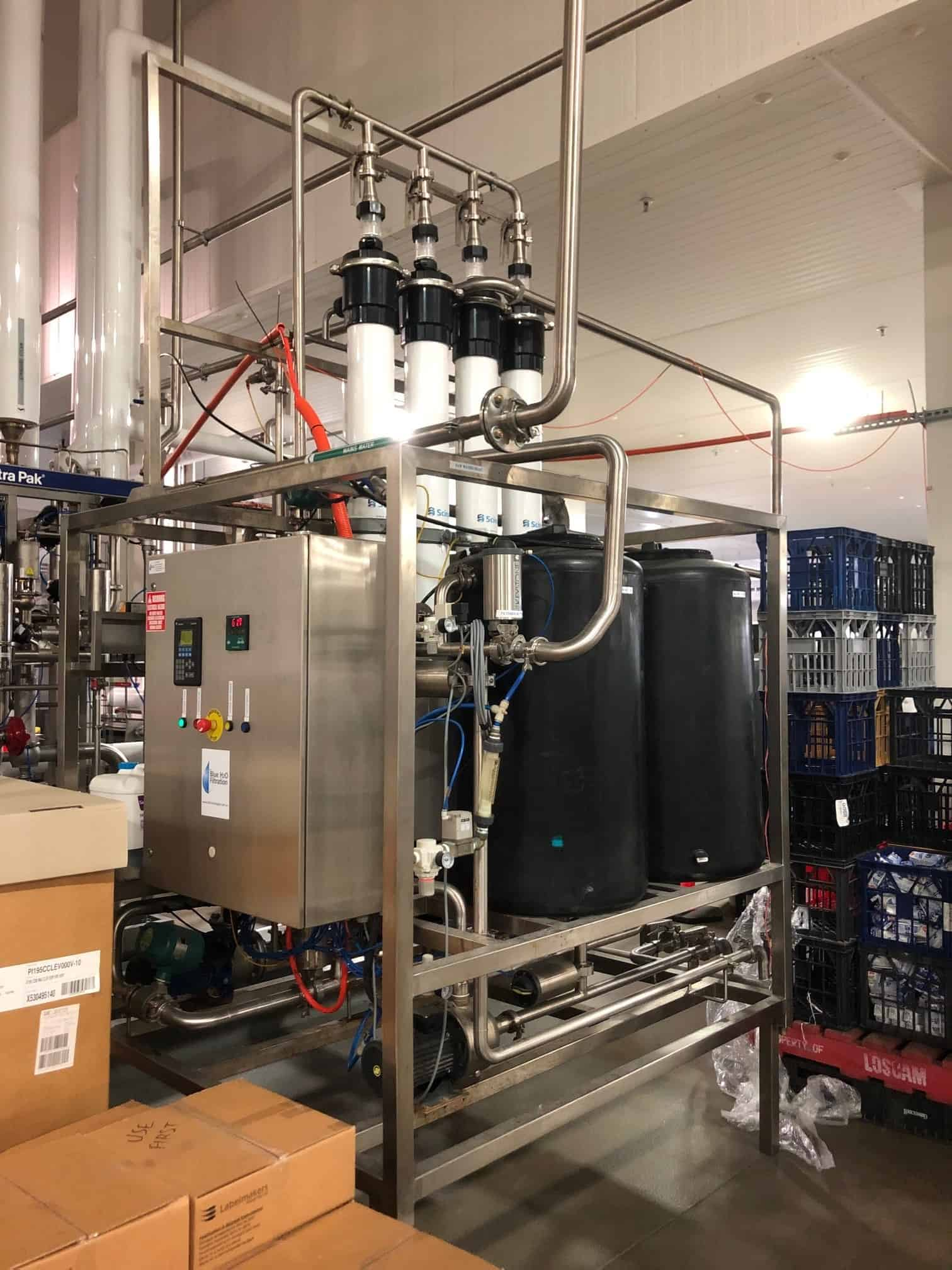 Mains water filtration dairy 2