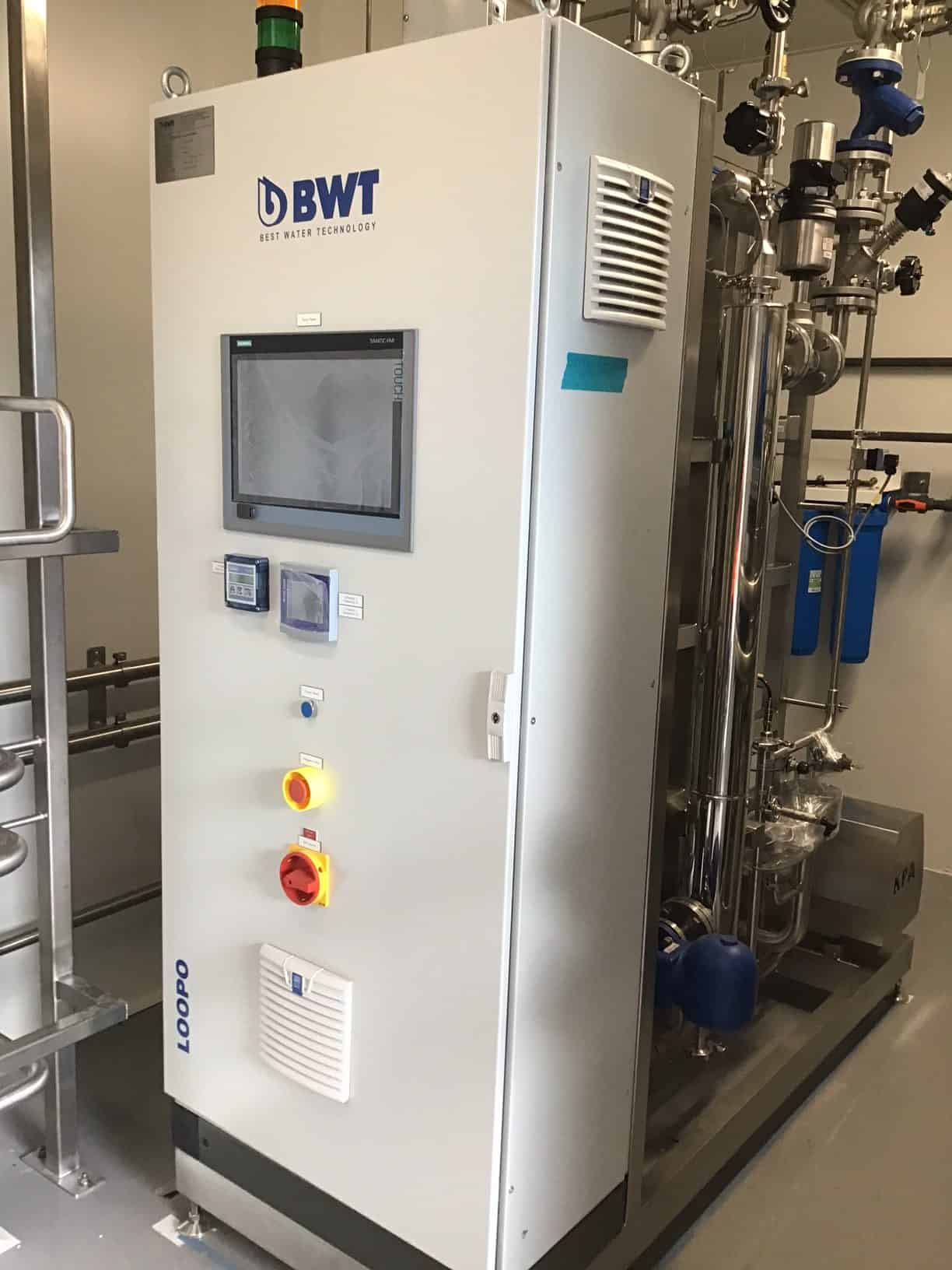Pharmaceutical water for injection WFI biotech 2