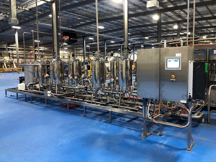 accolade automated sterile filtration system for bottling 1